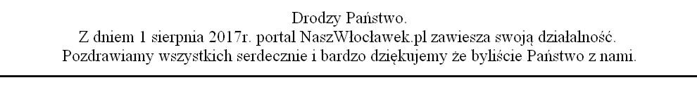 NaszWłocławek.pl zawiesza swą działalność