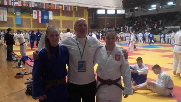 Od lewej - Angelika Szymańska, Roman Stawisiński, Wiktoria Tomczak