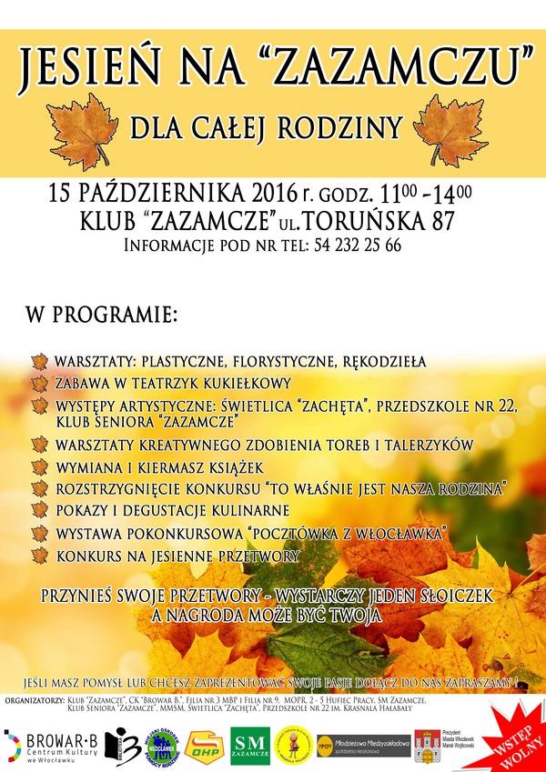 jesien-na-zazamczu-2016-plakat