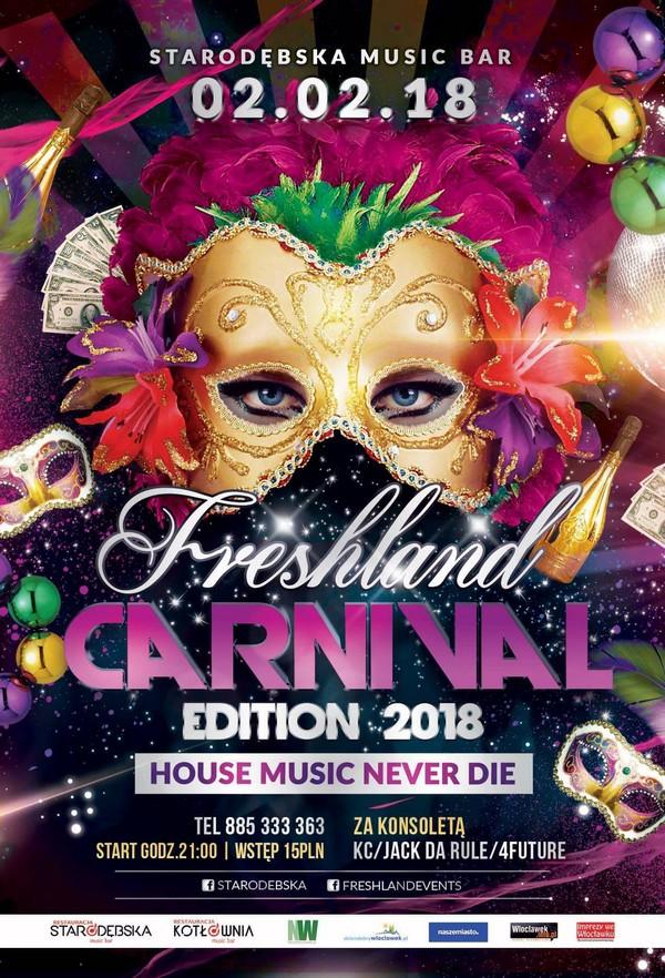 Carnival 2018 w Starodębska Music Bar
