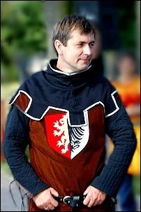 Dariusz Zieliński - Strażnik Miejski z Rycerską Pasją.